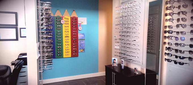 Eyewear for children at Oasis Eye Care Centre